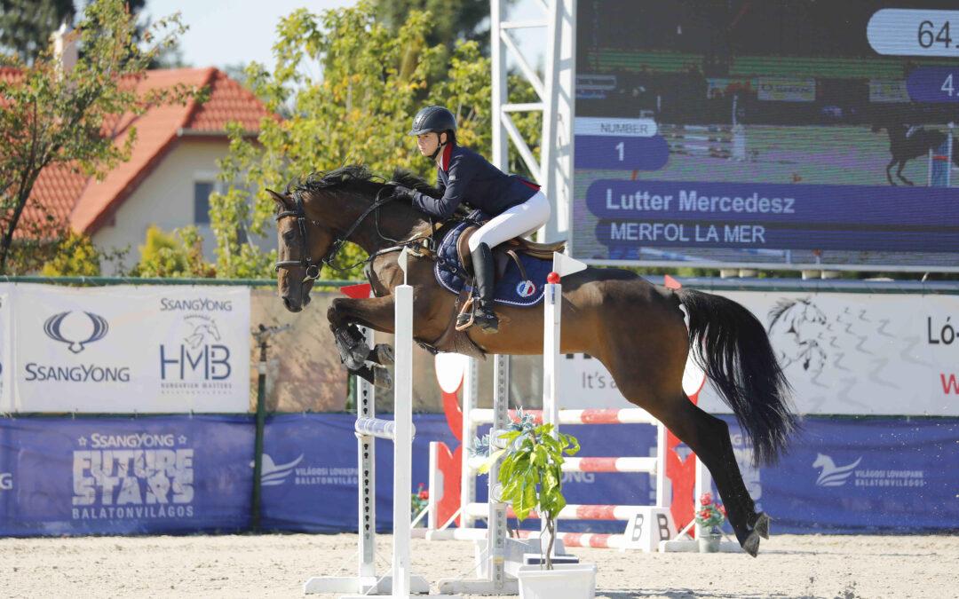 Díjugrató verseny-Lutter Mercédesz